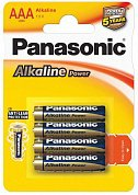 Э/п Panasonic Alkaline Power LR03/286 (BL4+2)  AAA / R03 арт. 423789 (040972)