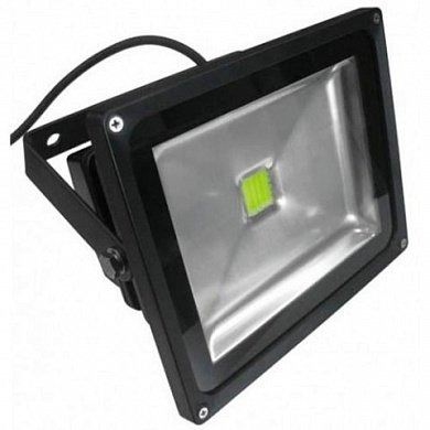 *Прож.свет.квадр.1LED/30W JAZZ WAY (WOLTA) LED хол.белый CW 220V IP65